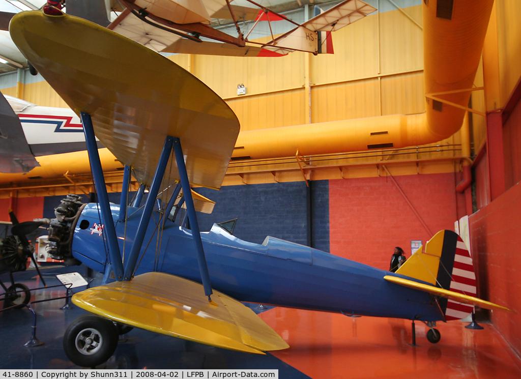 41-8860, Boeing PT-17 Kaydet (A75N1) C/N 75-2419, PT-17 preserved @ Le Bourget Museum