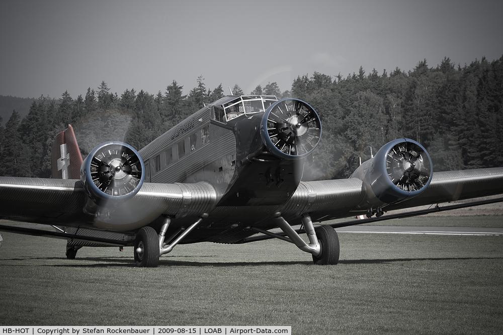 HB-HOT, 1939 Junkers Ju-52/3mg4e C/N 6595, -
