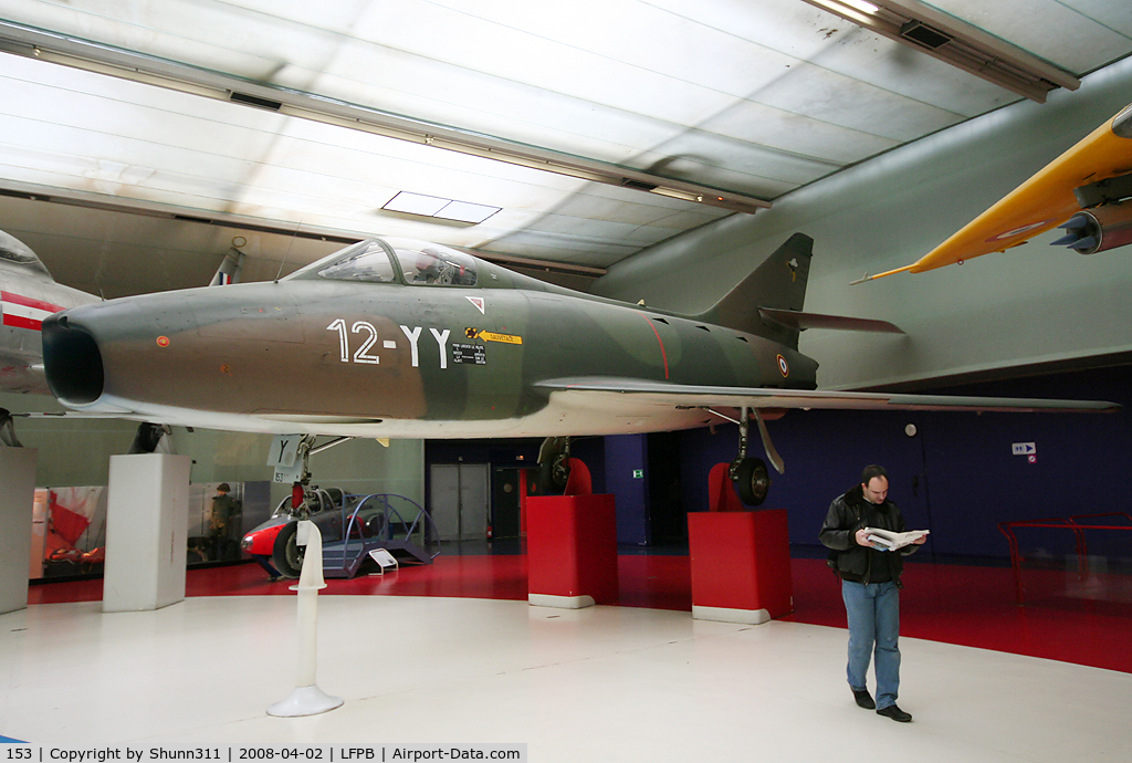 153, Dassault Super Mystere B.2 C/N 153, Preserved @ Le Bourget Museum