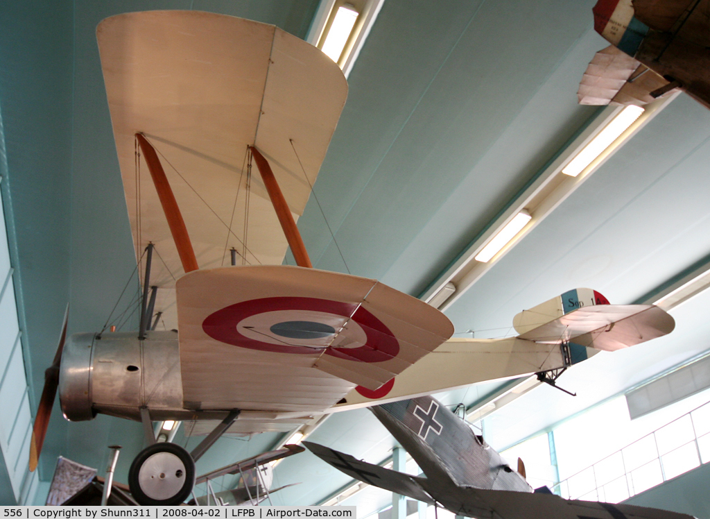 556, Sopwith 1A.2 C/N Not found 556, Preserved @ Le Bourget Museum