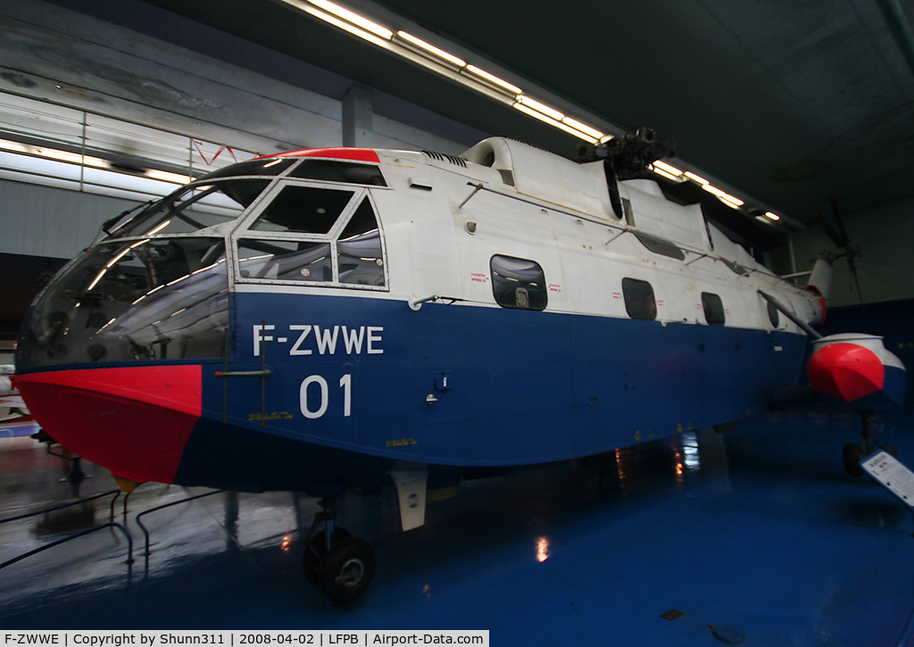 F-ZWWE, SNCASE SE-3210 Super Frelon C/N 01, Preserved @ Le Bourget Museum