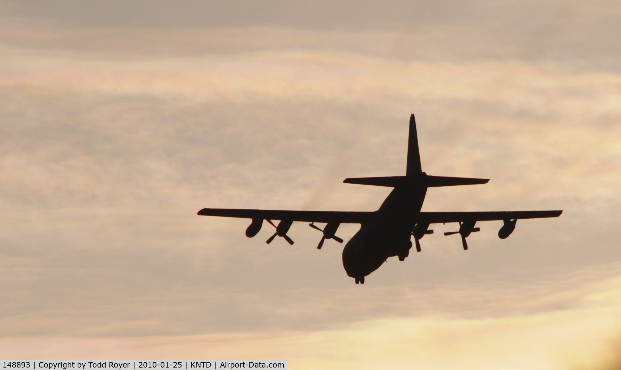 148893, 1961 Lockheed KC-130F Hercules C/N 282-3607, From the backyard