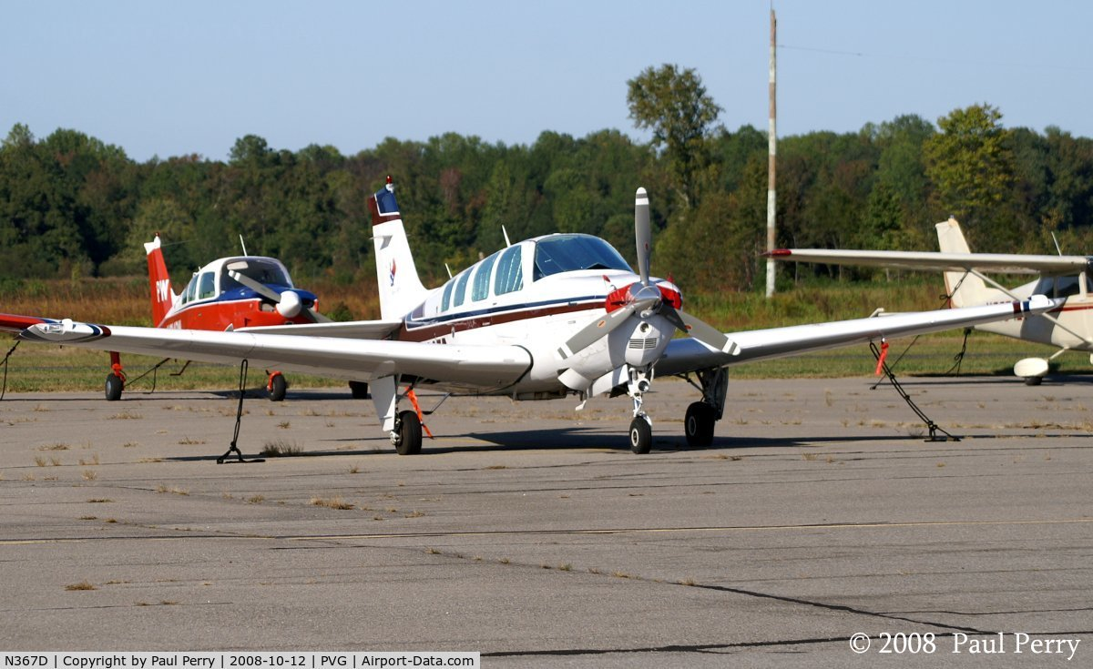 N367D, 1979 Beech A36 Bonanza 36 C/N E-1619, A visiting USA Cares ride