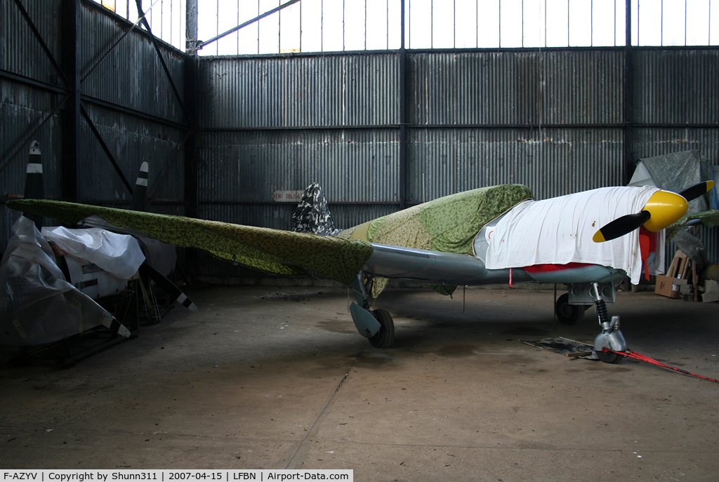 F-AZYV, Nord 1101 Noralpha C/N 13, Hangared...