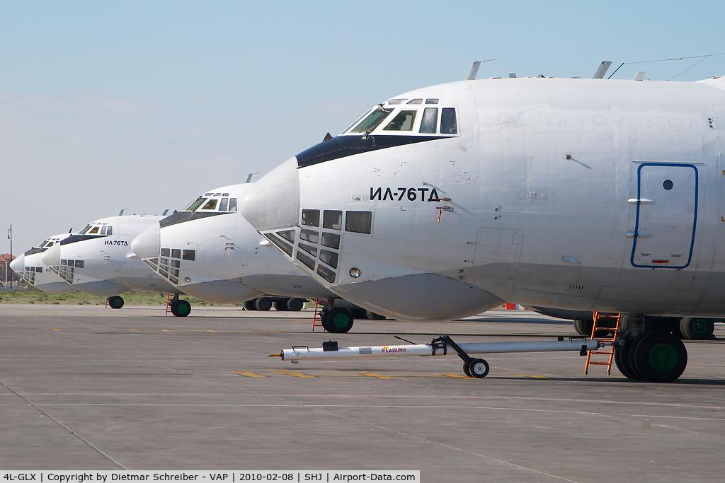 4L-GLX, Ilyushin Il-76TD C/N 0033448390, Iljuschin 76