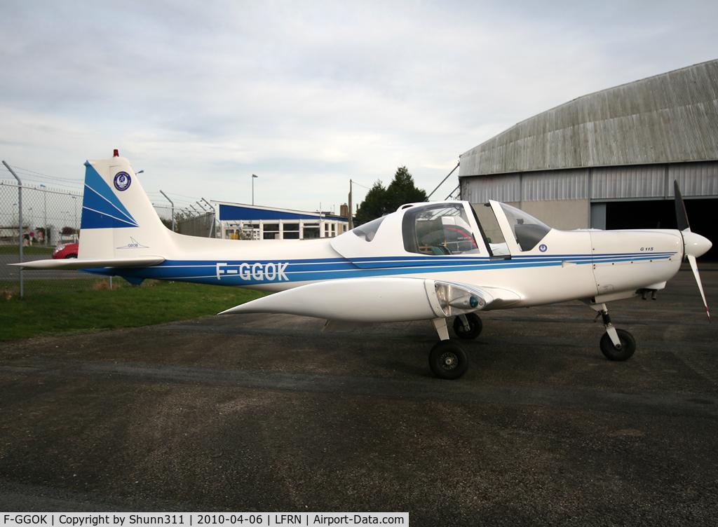 F-GGOK, 1989 Grob G-115A C/N 8096, Parked...