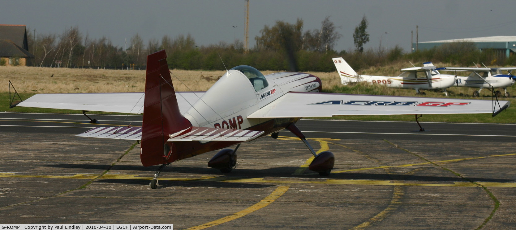 G-ROMP, 1987 Extra EA-230H C/N 001, The Icicle trophy