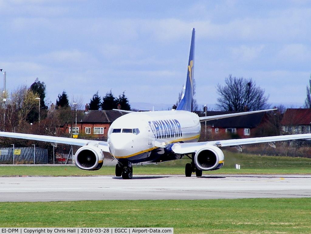 EI-DPM, 2007 Boeing 737-8AS C/N 33640, Ryanair