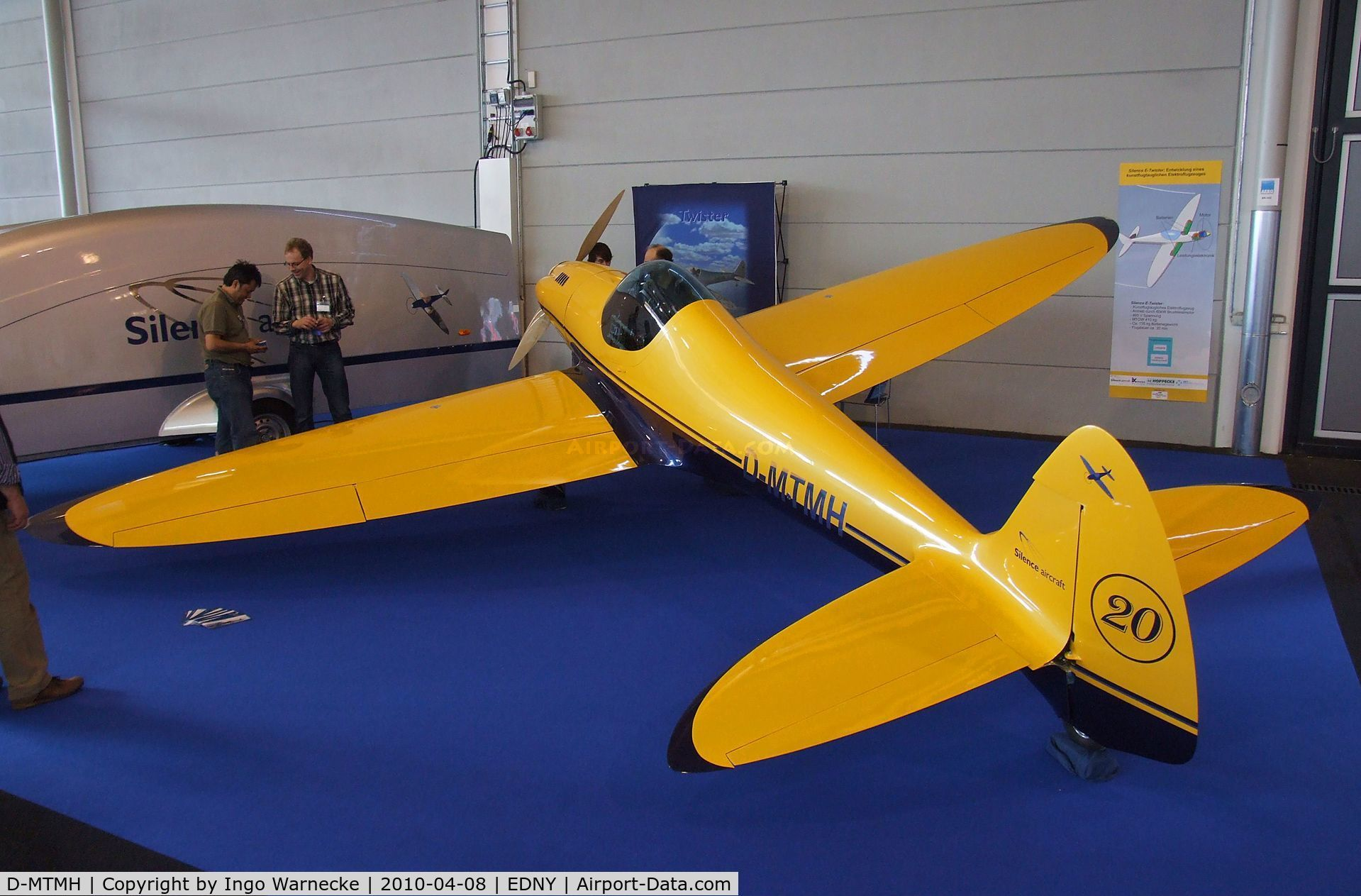 D-MTMH, 2000 Silence Twister C/N 001, Silence Twister Prototype at the AERO 2010, Friedrichshafen