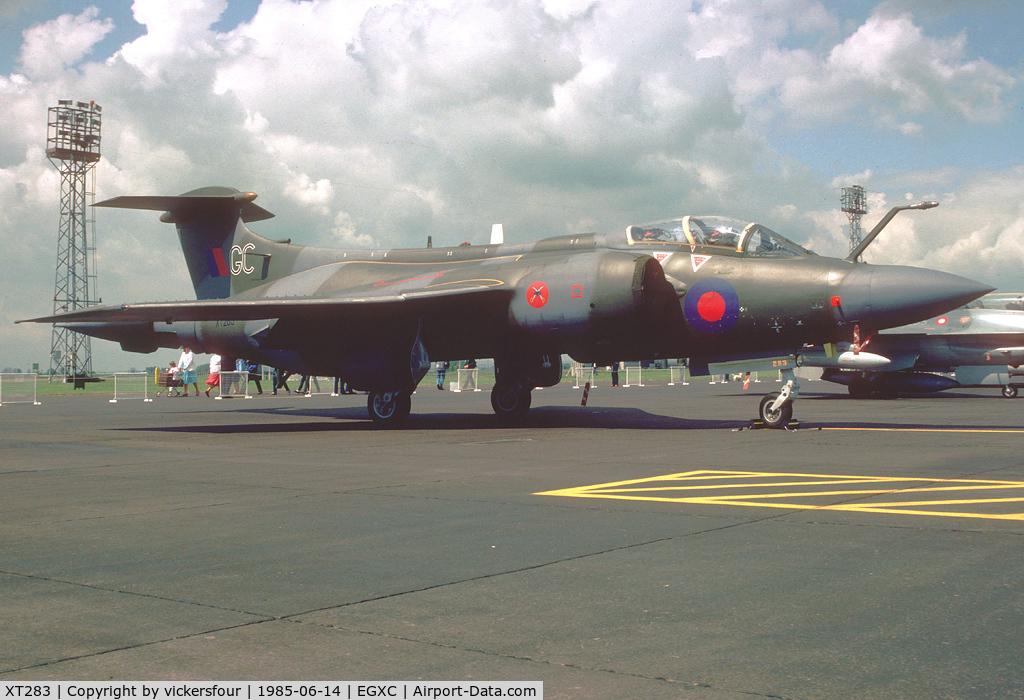 XT283, 1965 Hawker Siddeley Buccaneer S.2A C/N B3-05-65, Royal Air Force. Operated 237 OCU, coded 'GC'.