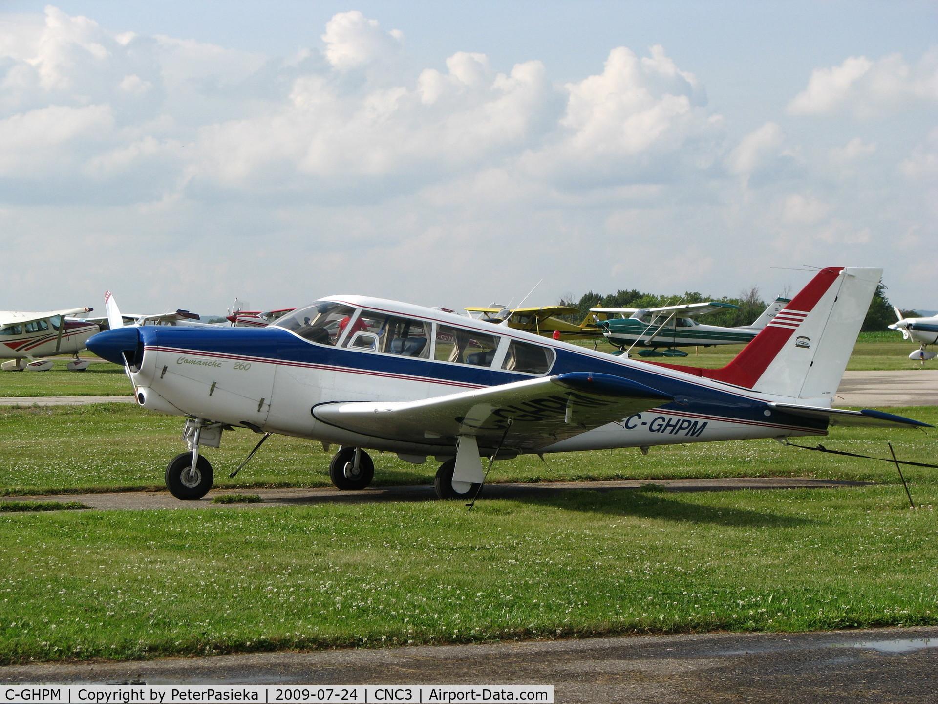 C-GHPM, 1966 Piper PA-24-260 Comanche B C/N 24-4644, @ Brampton Airport