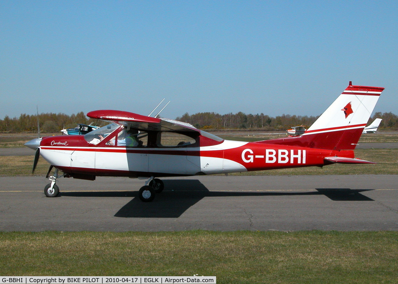 G-BBHI, 1972 Cessna 177RG Cardinal C/N 177RG0225, GREAT LOOKING CARDINAL FROM CARRICKFERGUS