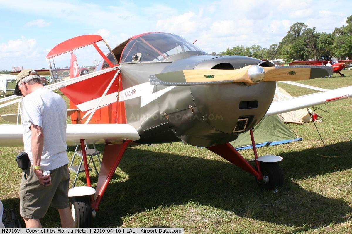 N2916V, 1951 Callair A-2 C/N 132, Callair A-2