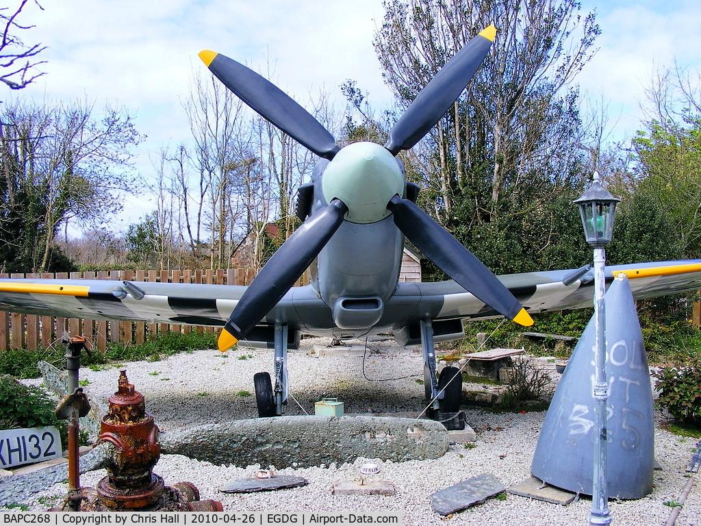 BAPC268, Supermarine 361 Spitfire IX Replica C/N BAPC.268, Supermarine Spitfire IX Replica