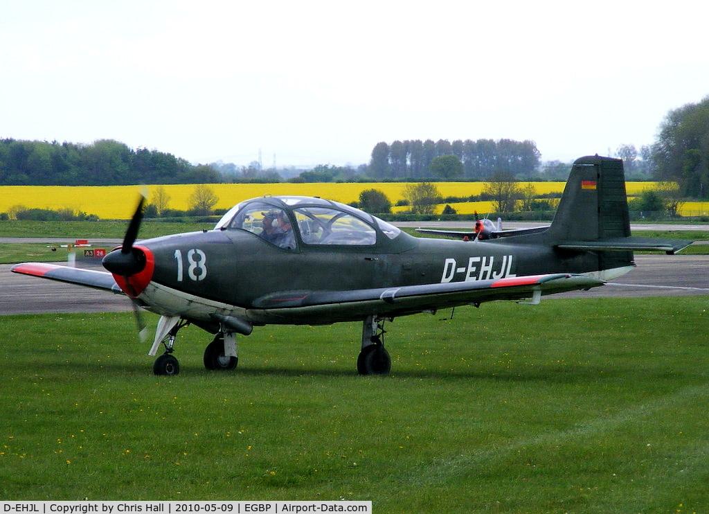 D-EHJL, Focke-Wulf FWP-149D C/N 45, at the Great Vintage Flying Weekend