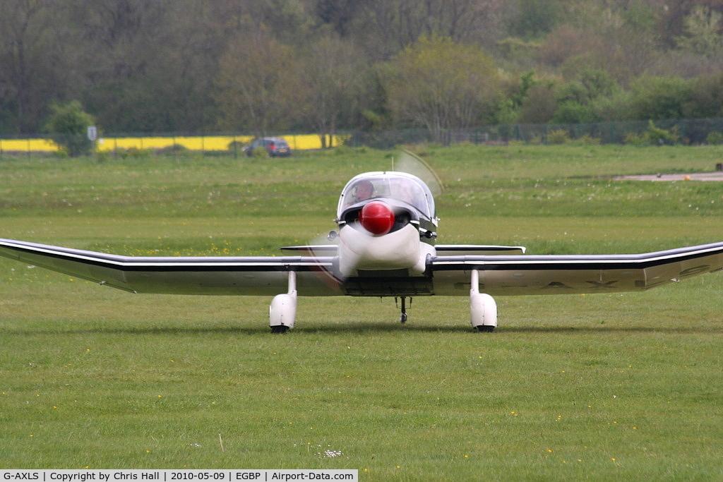 G-AXLS, 1959 Jodel DR-105A Ambassadeur C/N 86, at the Great Vintage Flying Weekend
