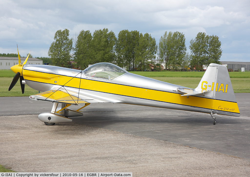 G-IIAI, 1995 Mudry CAP-232 C/N 07, Privately operated. Breighton.