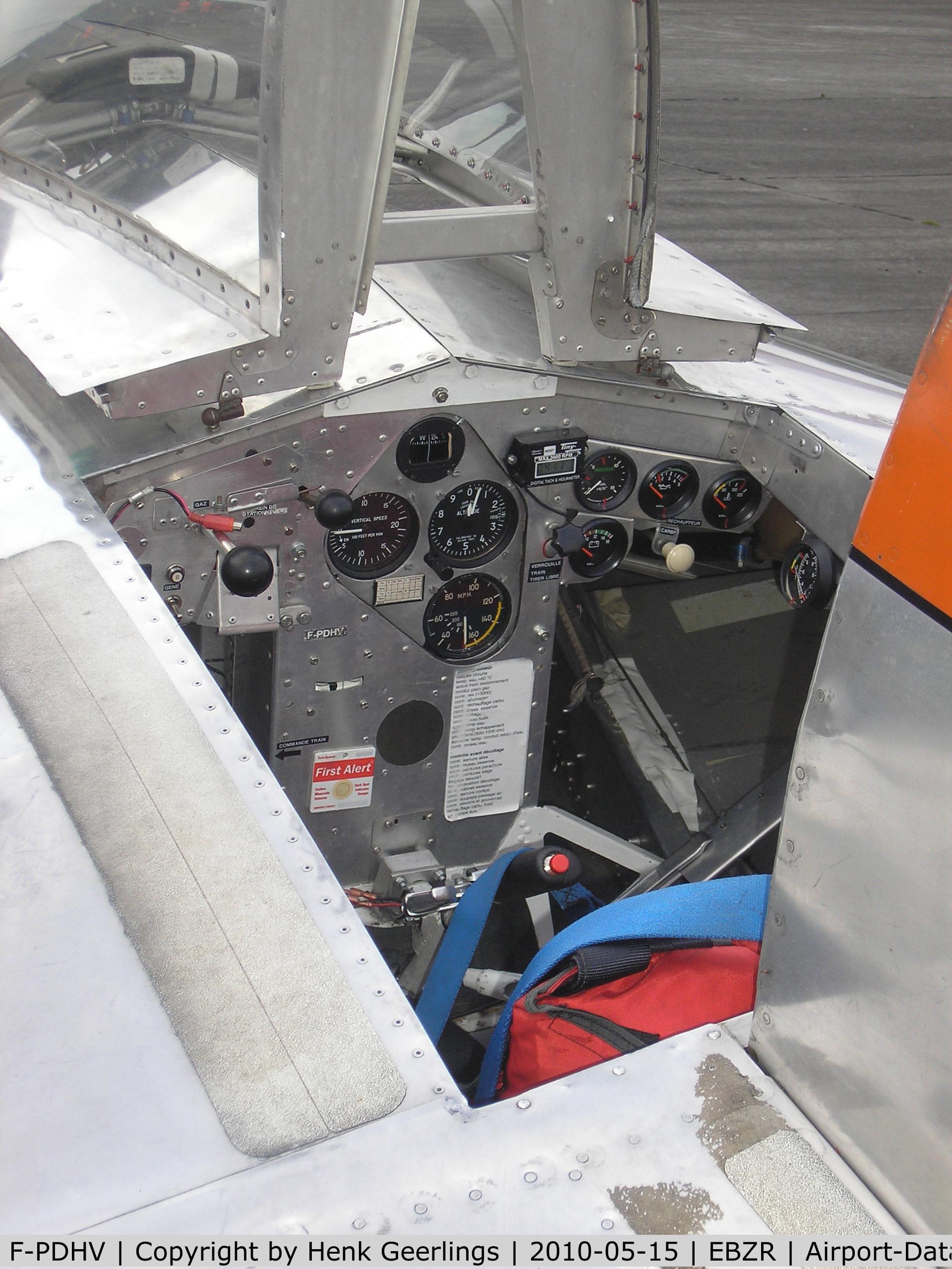 F-PDHV, Verhees Delta C/N 01, Chipmunk & Cirrus Meet , May 2010