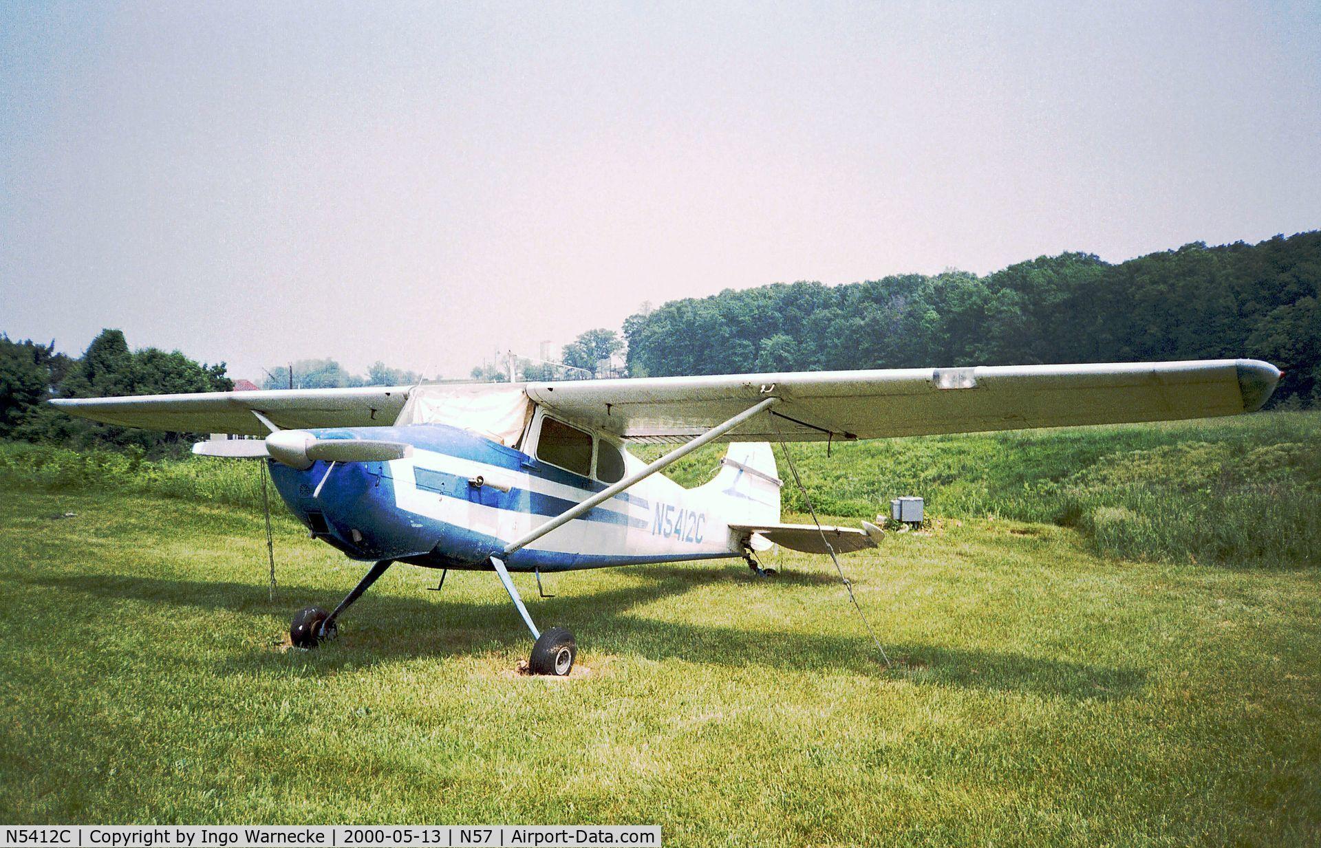 Aircraft N5412C (1950 Cessna 170A C/N 19446) Photo by Ingo Warnecke ...