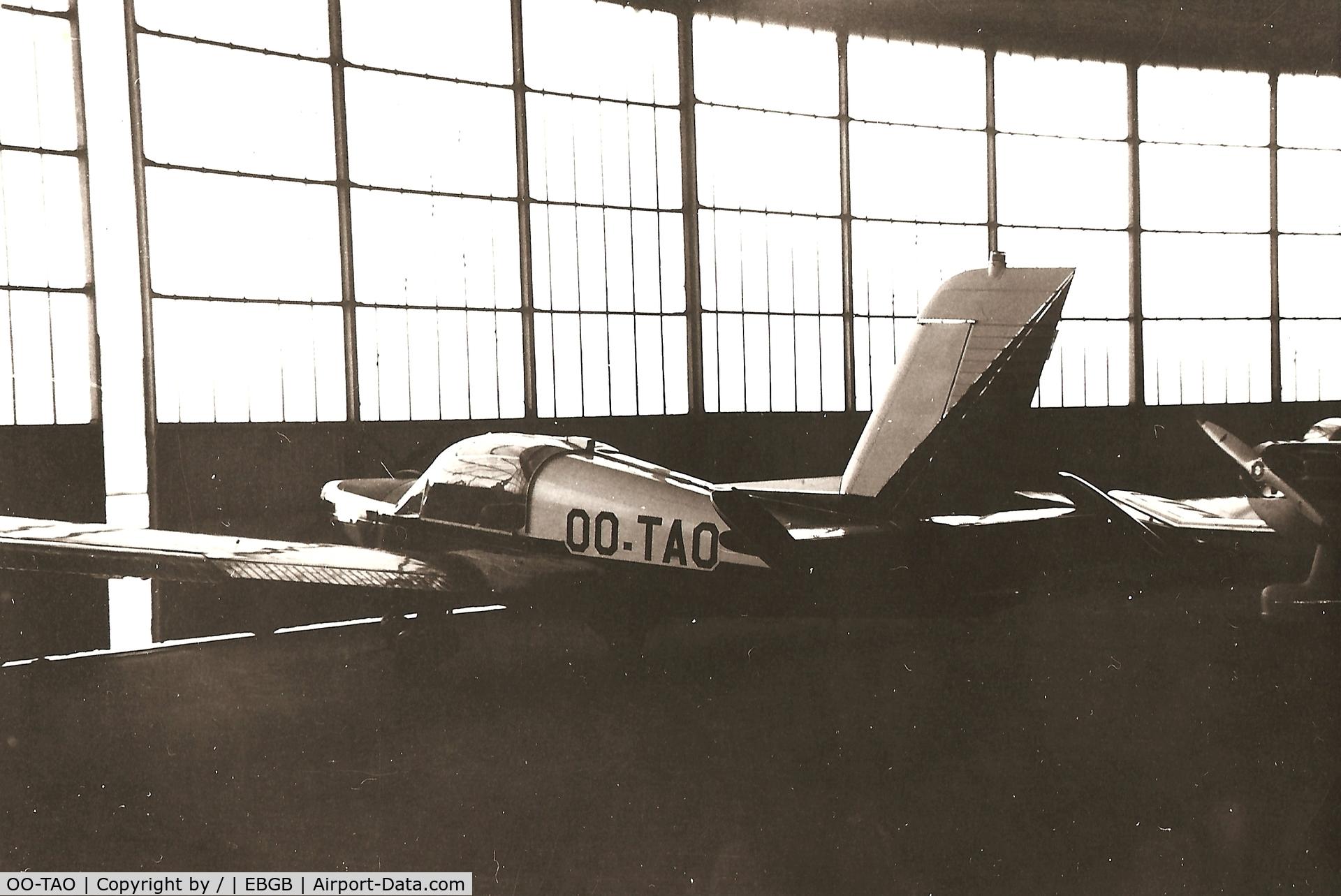 OO-TAO, Morane-Saulnier MS-892A Rallye Commodore 150 C/N 10457, old scan