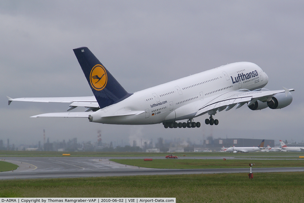 D-AIMA, 2010 Airbus A380-841 C/N 038, Lufthansa Airbus A380