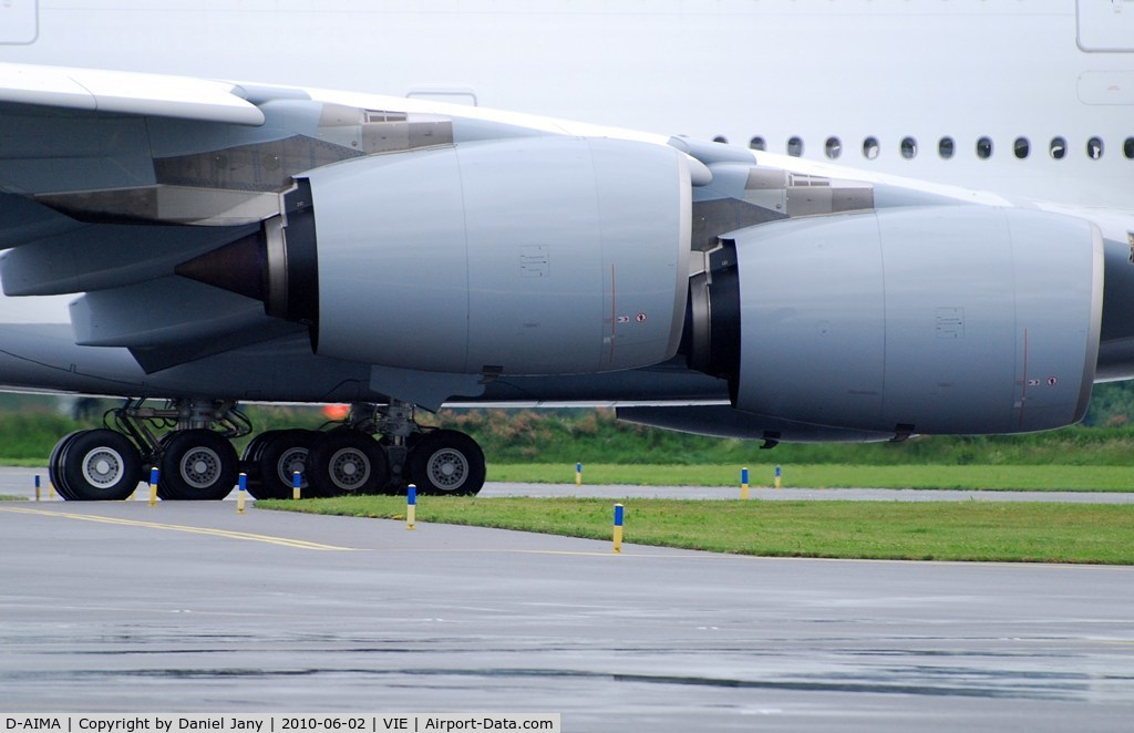 D-AIMA, 2010 Airbus A380-841 C/N 038, Lufthansa