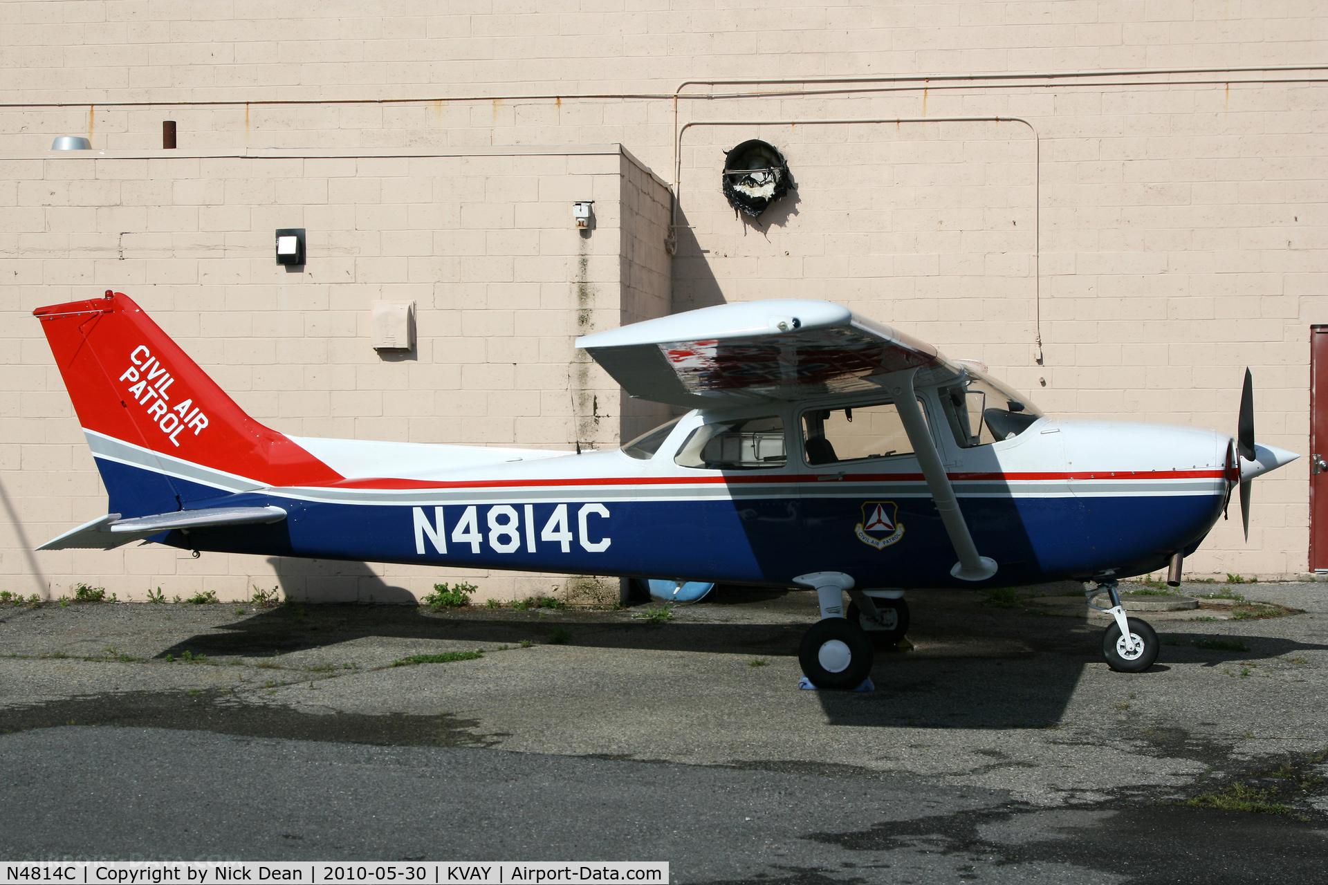 N4814C, 1982 Cessna 172P Skyhawk C/N 17275868, KVAY