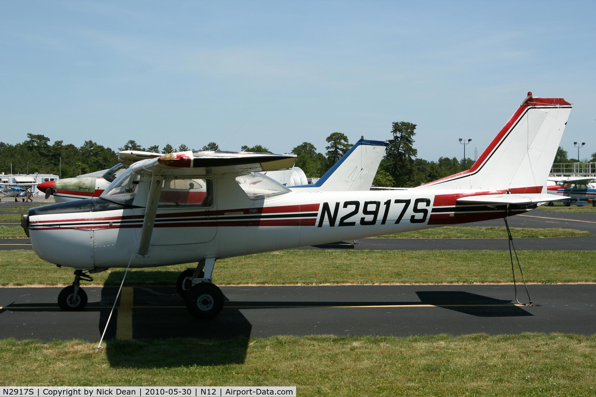N2917S, 1967 Cessna 150G C/N 15066817, N12