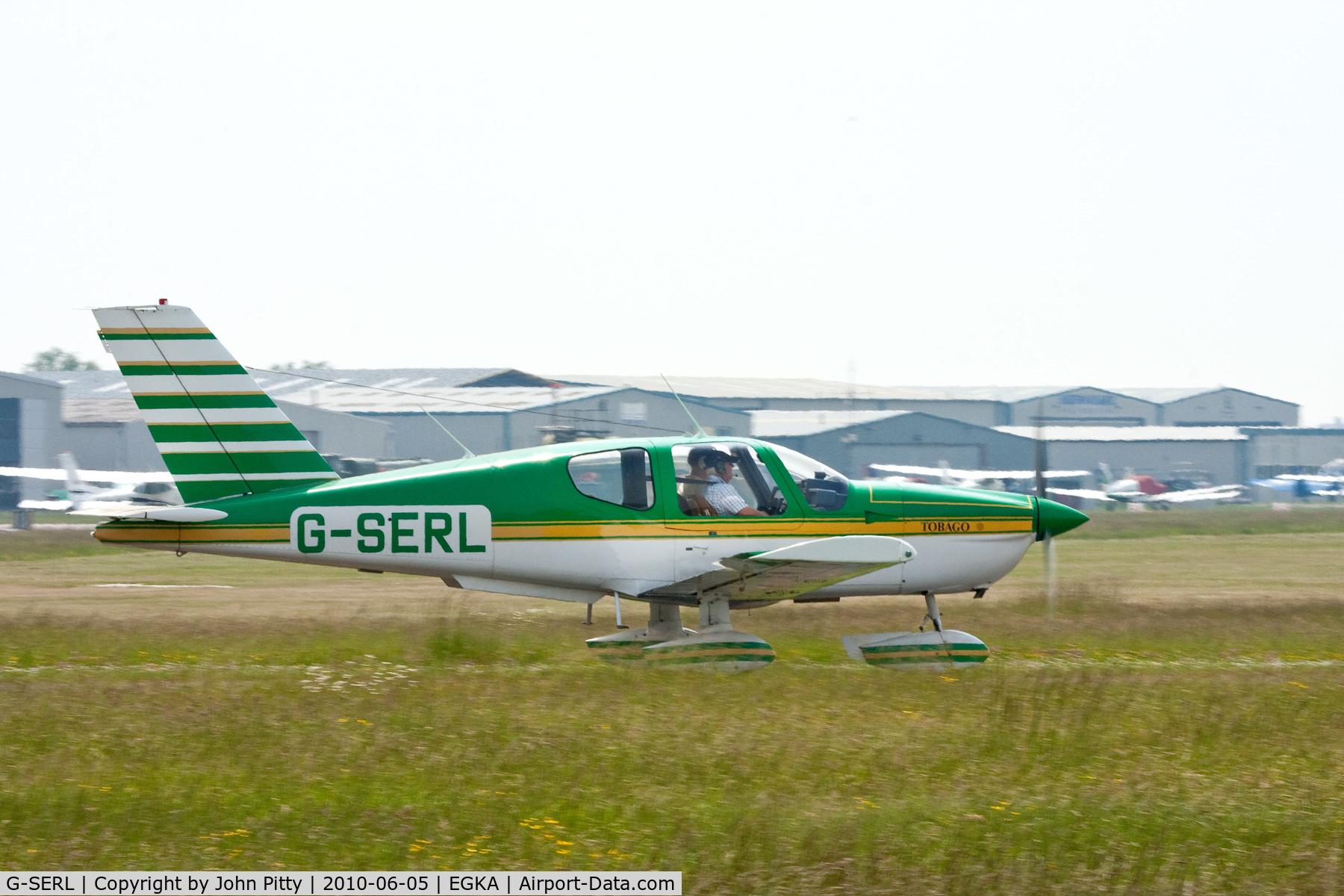 G-SERL, 1980 Socata TB-10 Tobago C/N 109, Shoreham Airport, West Sussex