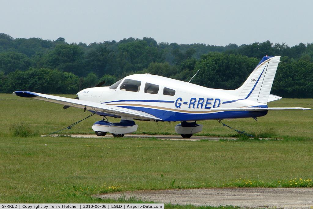 G-RRED, 2008 Piper PA-28-181 Cherokee Archer III C/N 2843673, 2008 Piper PIPER PA-28-181 CHEROKEE ARCHER III, c/n: 2843673 at Denham