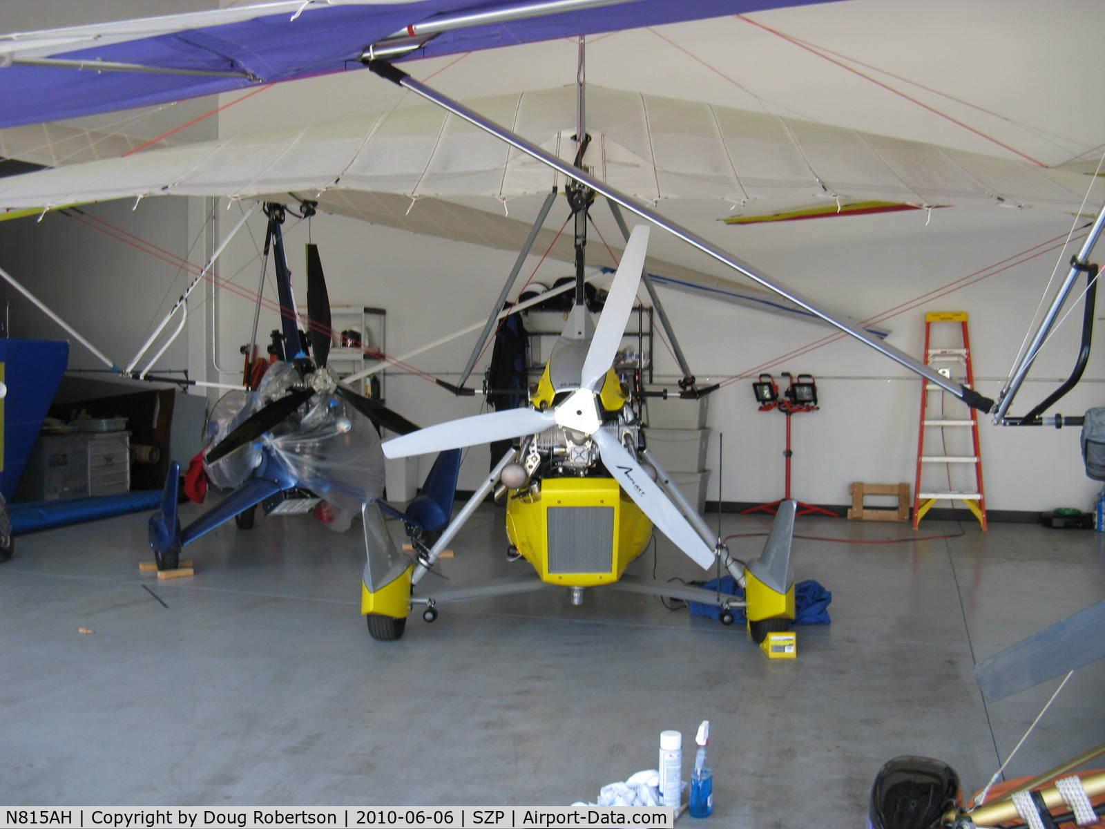 N815AH, 2006 Air Creation Tanarg C/N T06076, 2006 Air Creation USA TANARG, Rotax 912ULS 80 Hp pusher,  weight-shift control Experimental Light Sport Aircraft, three-blade pusher prop