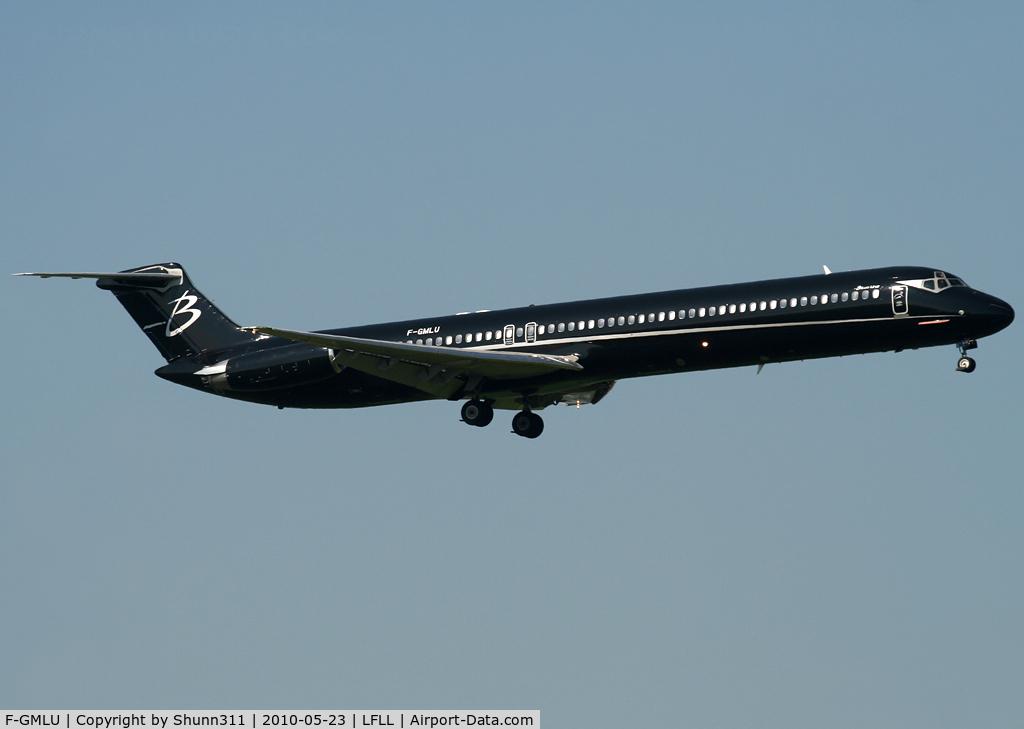 F-GMLU, 1986 McDonnell Douglas MD-83 (DC-9-83) C/N 49398, Landing rwy 36L