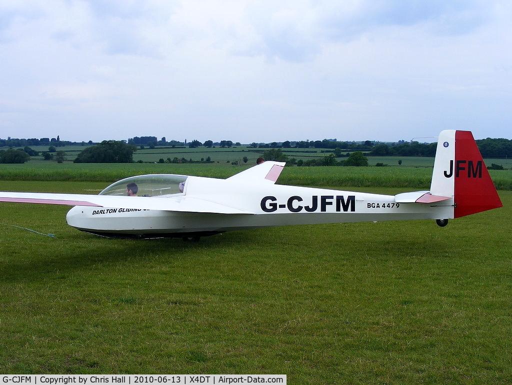 G-CJFM, 1968 Schleicher ASK-13 C/N 13222, Schleicher ASK 13 at the Darlton Gliding Club