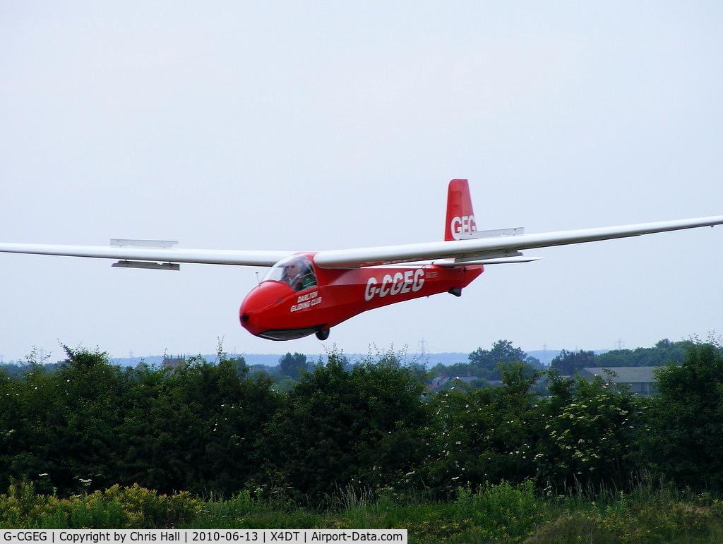 G-CGEG, 1960 Schleicher K-8B C/N 689, Schleicher K 8B at the Darlton Gliding Club