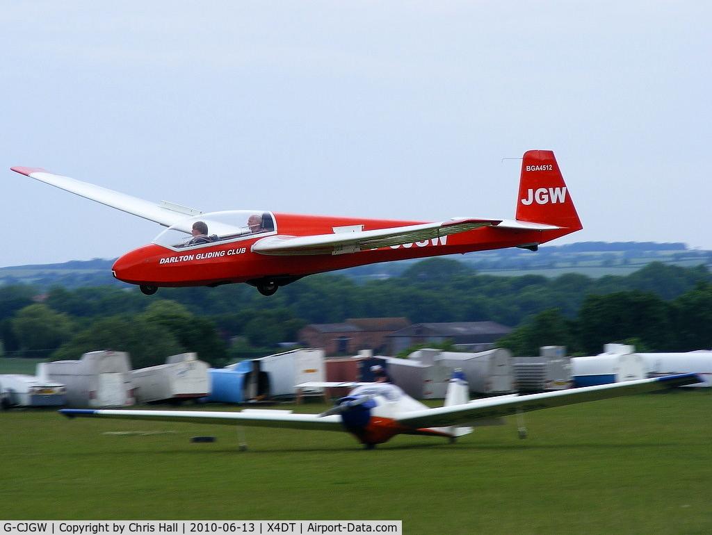 G-CJGW, 1969 Schleicher ASK-13 C/N 13146, Schleicher ASK 13 at the Darlton Gliding Club
