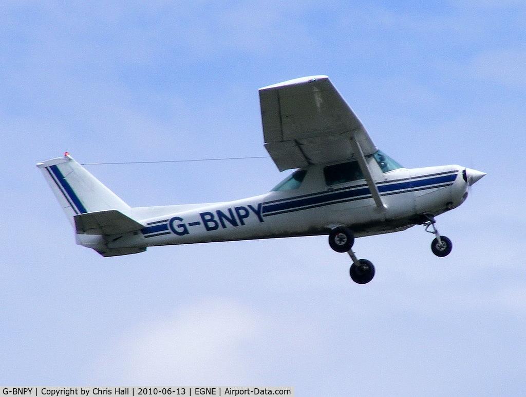 G-BNPY, 1977 Cessna 152 C/N 152-80249, Traffic Management Services Ltd