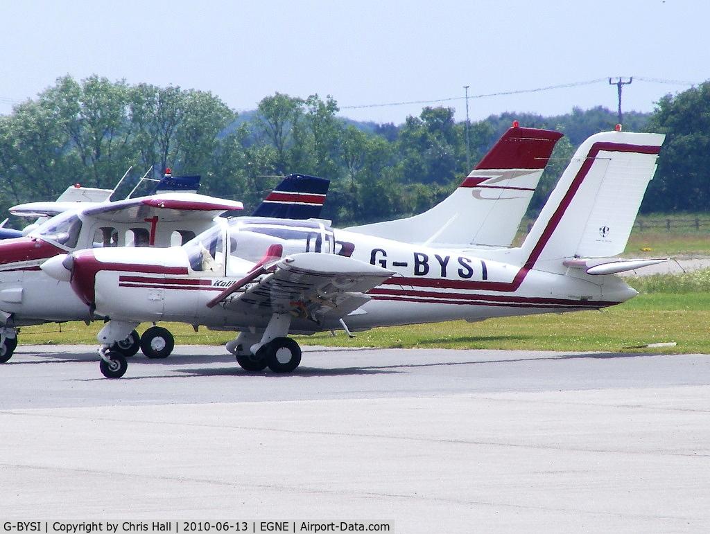 G-BYSI, 1999 PZL-Okecie PZL-110 Koliber 160A C/N 04990081, privately owned