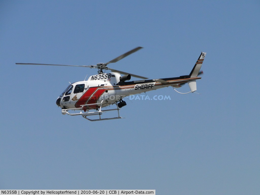 N635SB, 2006 Eurocopter AS-350B-3 Ecureuil C/N 4014, Westbound fly over