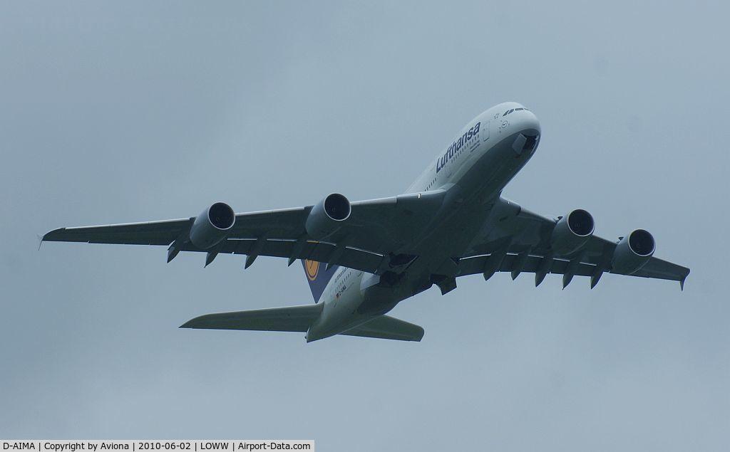 D-AIMA, 2010 Airbus A380-841 C/N 038, D-AIMA @ VIE
