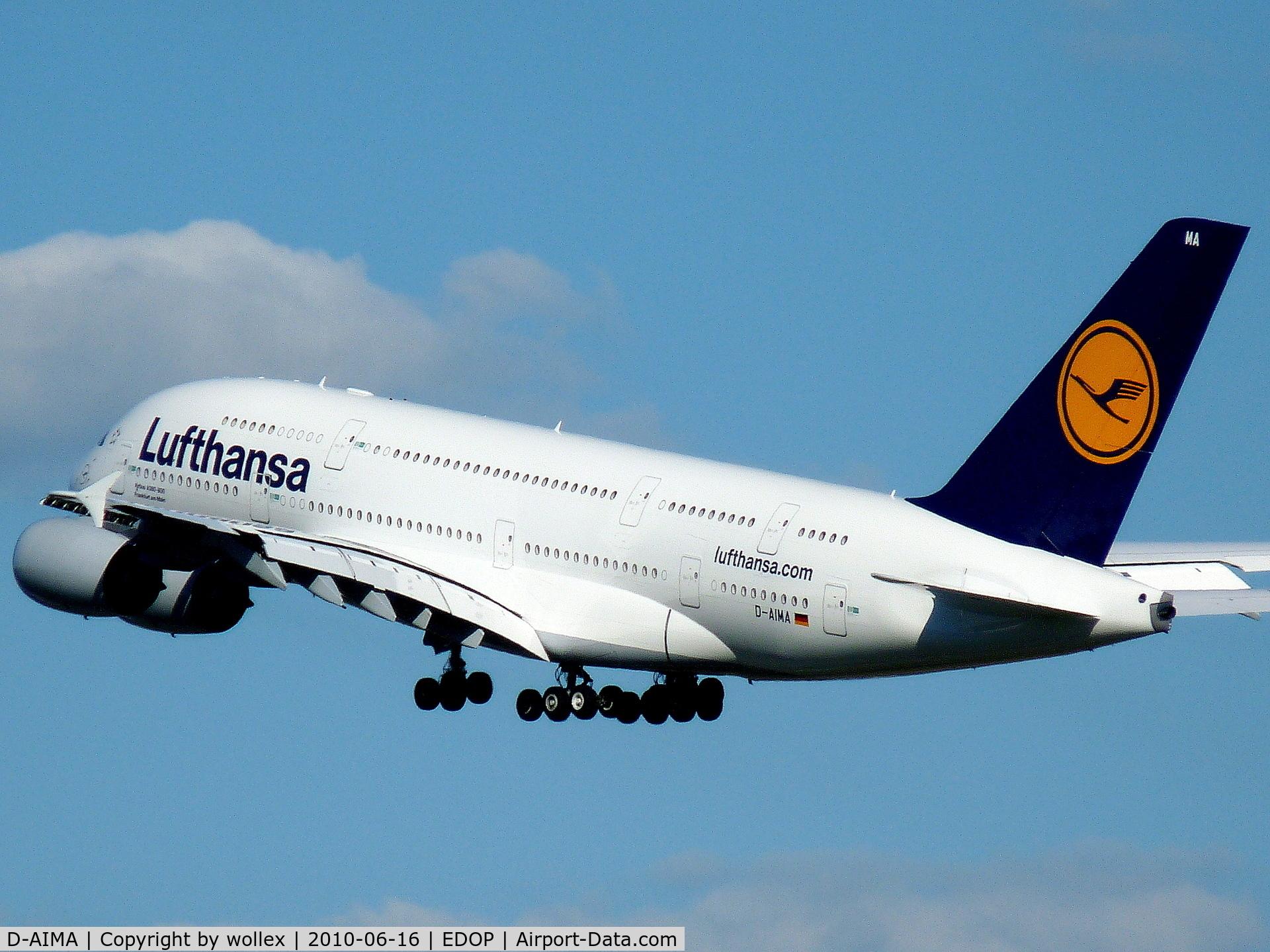 D-AIMA, 2010 Airbus A380-841 C/N 038, Airbus A380 (D-AIMA) Lufthansa