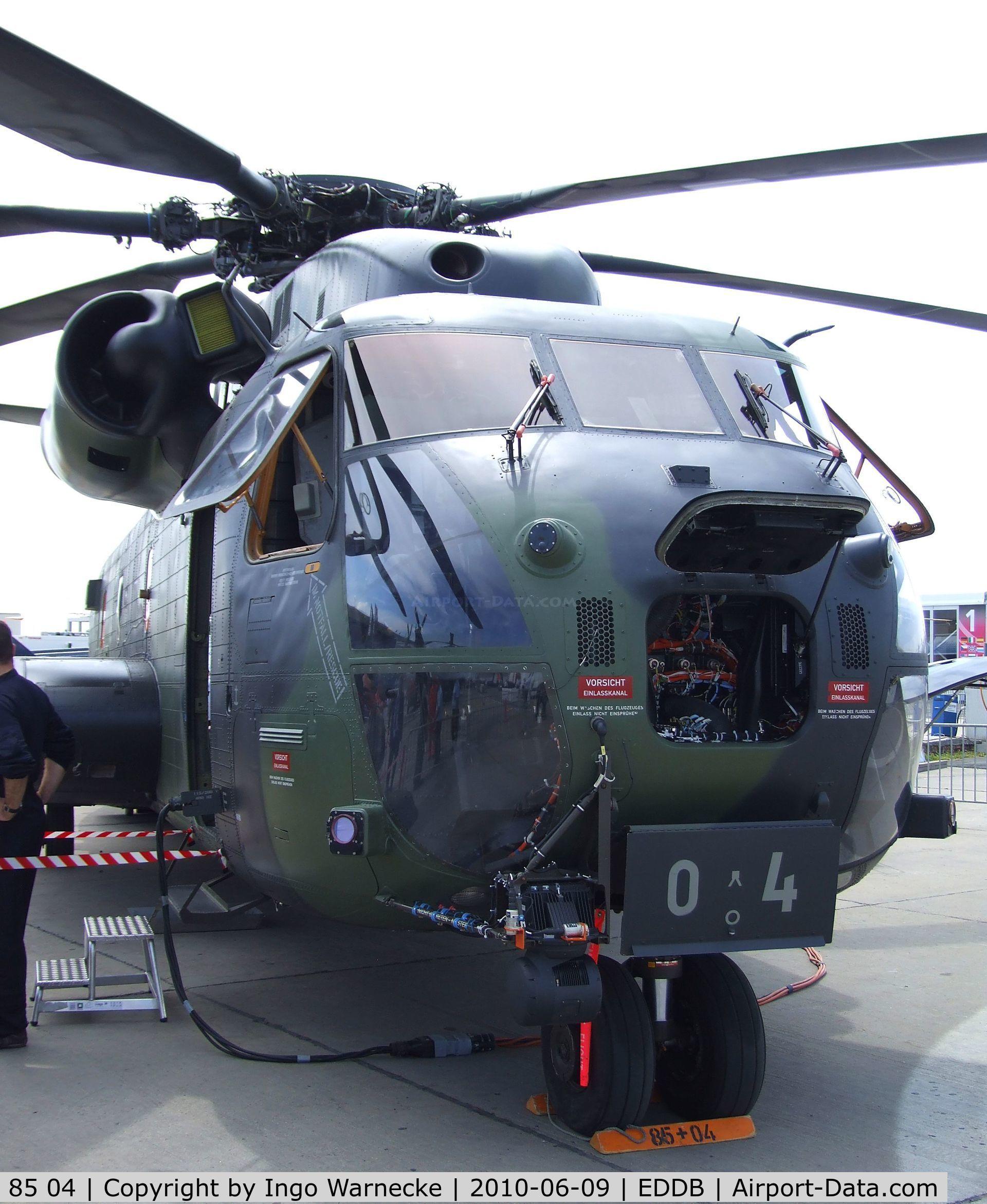 El repotenciado  CH-53GA de los Germanos 486158