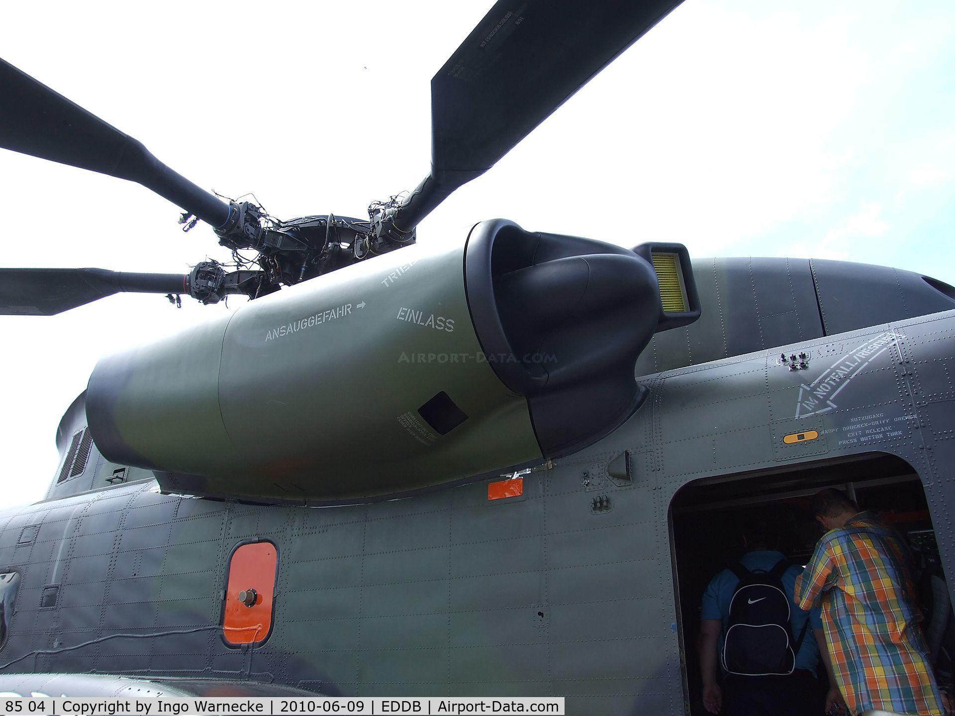 El repotenciado  CH-53GA de los Germanos 486161