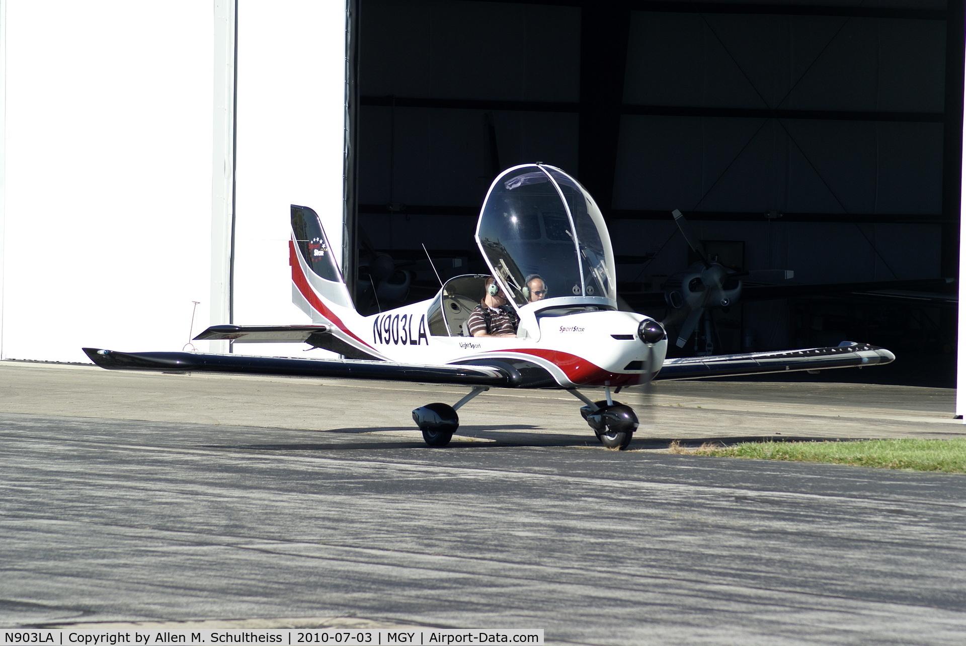 N903LA, 2007 Evektor-Aerotechnik SPORTSTAR PLUS C/N 2007 0903, 2007 Sportstar Plus