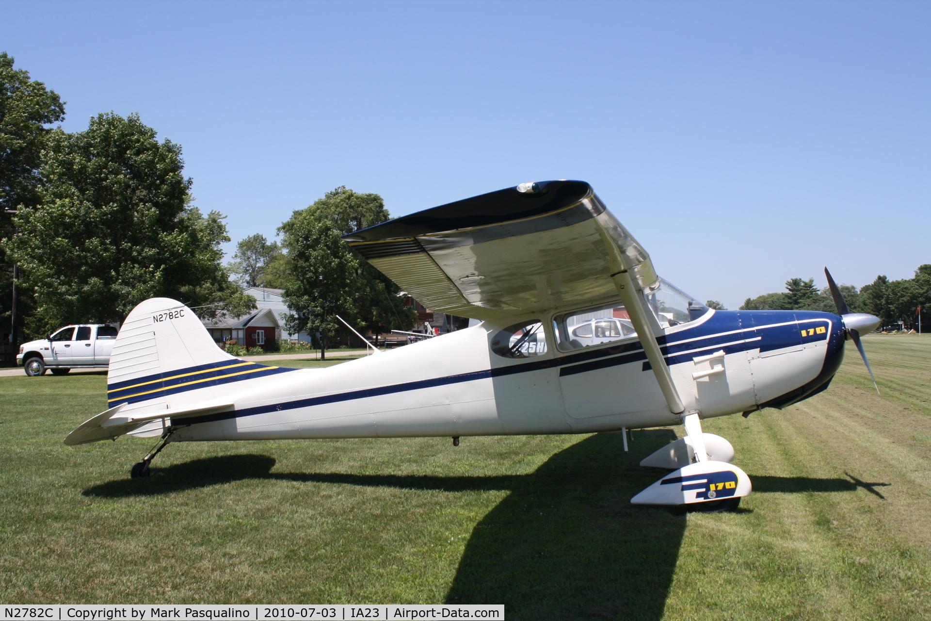 N2782C, 1954 Cessna 170B C/N 26326, Cessna 170B