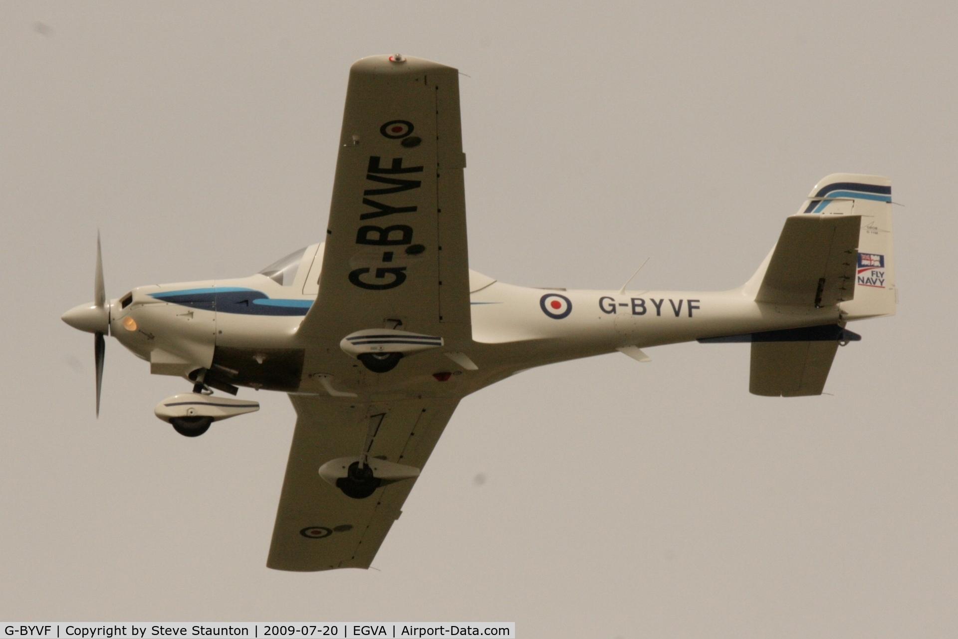 G-BYVF, 2000 Grob G-115E Tutor T1 C/N 82116/E, Taken at the Royal International Air Tattoo 2009