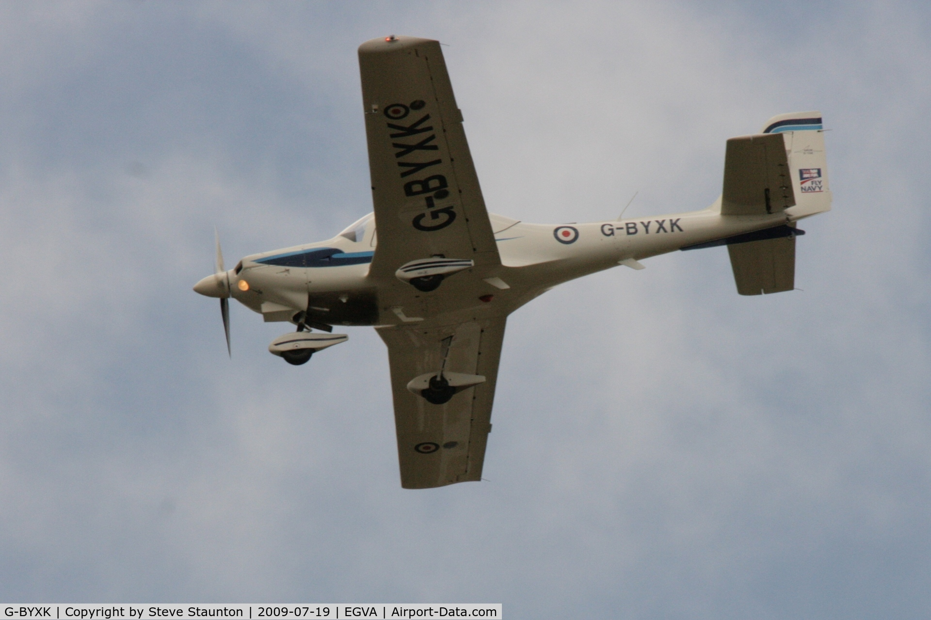 G-BYXK, 2001 Grob G-115E Tutor T1 C/N 82171/E, Taken at the Royal International Air Tattoo 2009