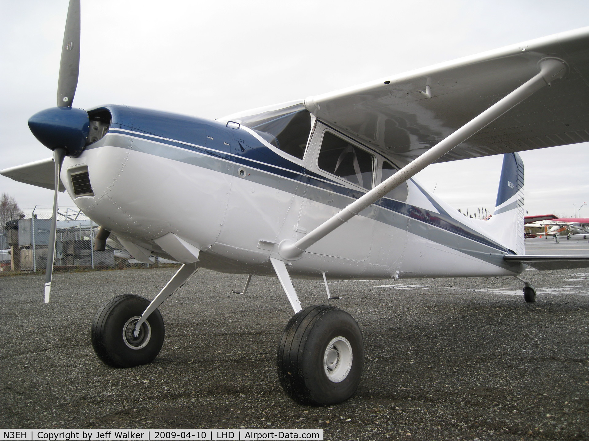 Aircraft N3EH (1961 Cessna 180D C/N 18051020) Photo by Jeff Walker