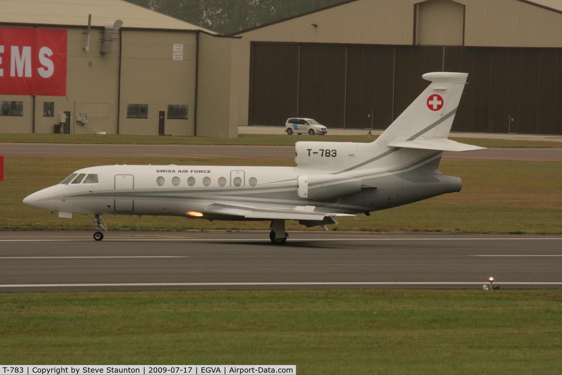 T-783, Dassault Falcon 50 C/N 67, Taken at the Royal International Air Tattoo 2009