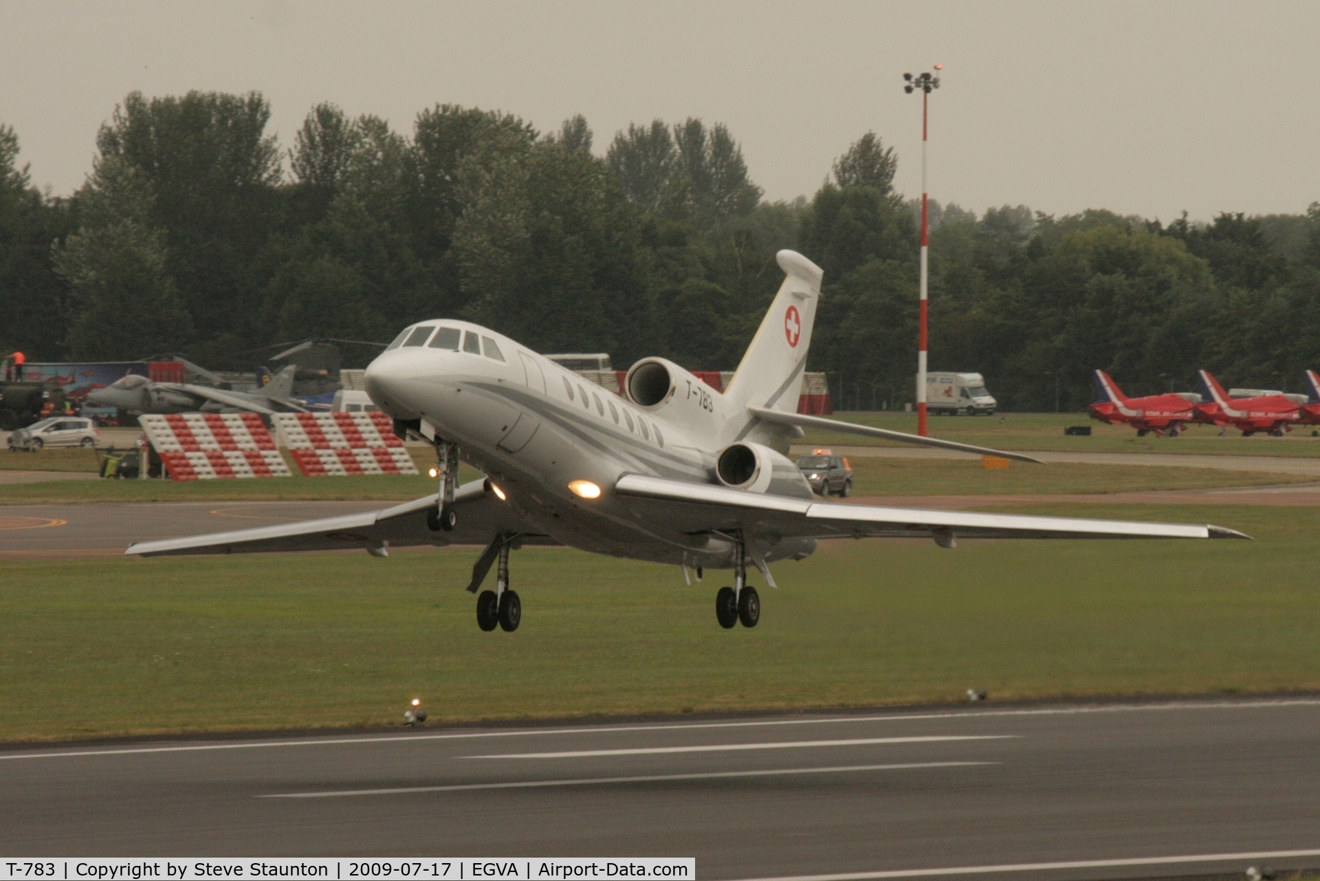 T-783, Dassault Falcon 50 C/N 67, Taken at the Royal International Air Tattoo 2009