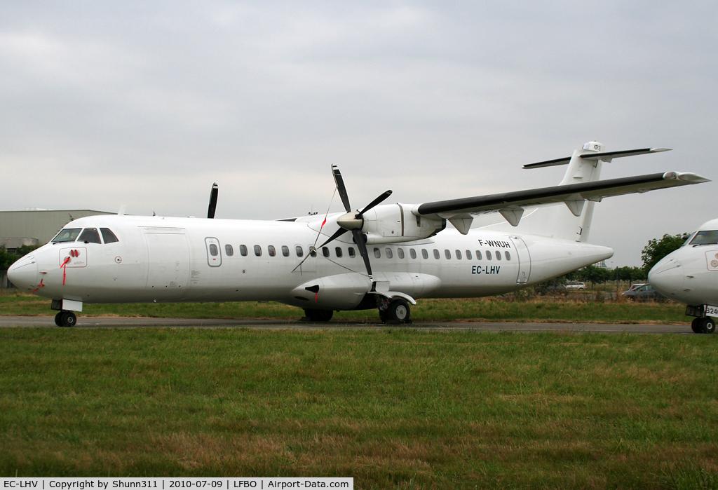 EC-LHV, 1994 ATR 72-202 C/N 416, Dual registration with F-WNUH... For Swiftair ?